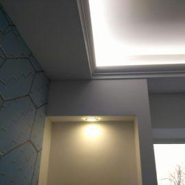 Подсветка потолка и ниш