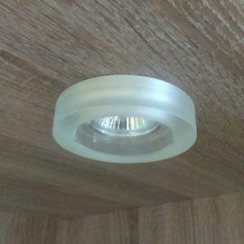Установка и подключение врезных светильников